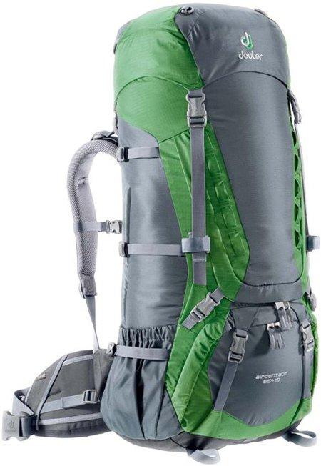 Deuter Aircontact Aircontact 65 + 10 granite-emerald туристический рюкзак