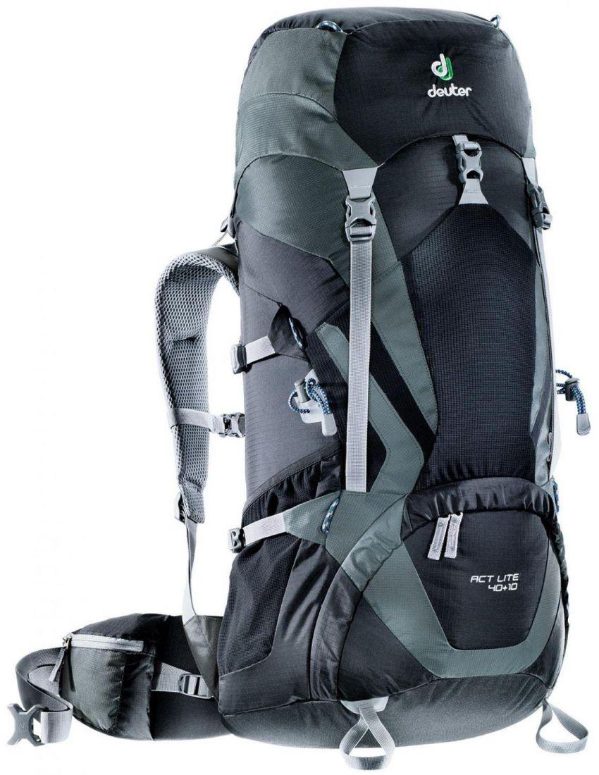 Deuter Aircontact Lite ACT Lite 40L + 10L black-granite многофункциональный рюкзак