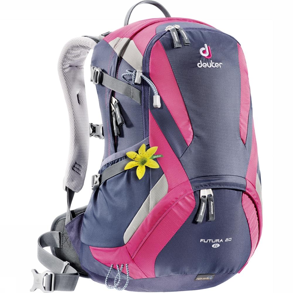 Deuter Aircomfort Futura Futura 20L SL blueberry-magenta женский рюкзак