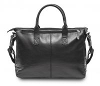 HADLEY RUSSEL BLACK кожаный портфель-сумка