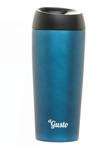 ТЕРМОКРУЖКА EL GUSTO GRANO синяя 470 МЛ
