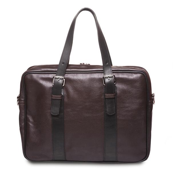 HADLEY MARK BROWN кожаная деловая сумка