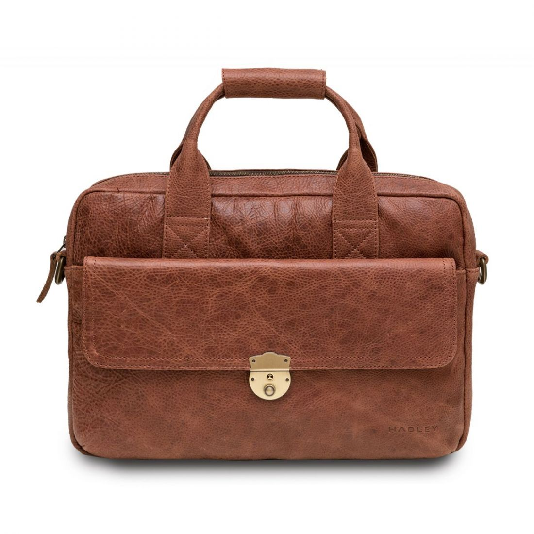 HADLEY MAPLE SMOKY RED кожаный портфель